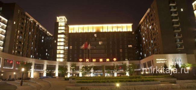 2 и 3 корпус общежития пекинского университета